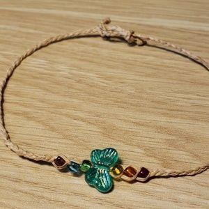 Rainbow Butterfly Bracelet